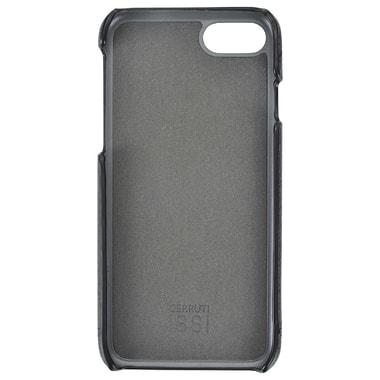Черный кожаный чехол для iPhone 7 Cerruti 1881