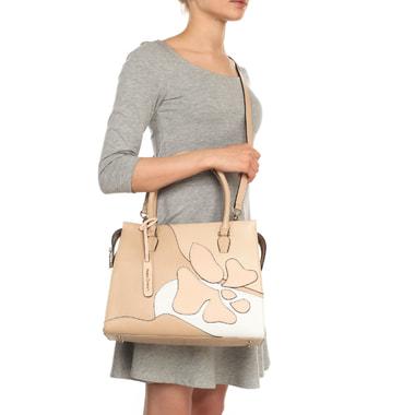 Кожаная сумка с принтом Fiato Dream