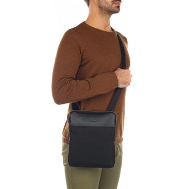 Мужская комбинированная сумка через плечо Stevens