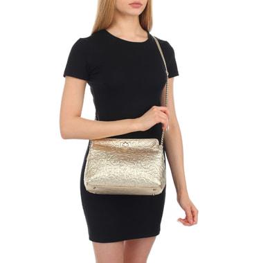Женская кожаная сумка через плечо Marina Creazioni