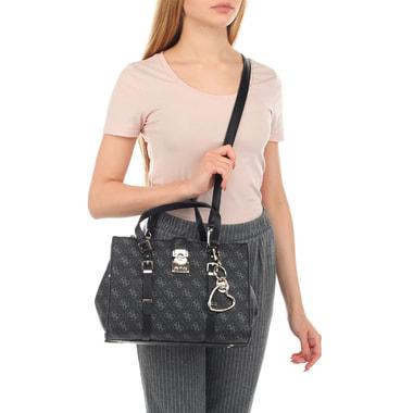 Женская сумка с тремя отделами и плечевым ремешком Guess
