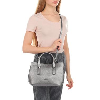 Женская сумочка из металлизированной кожи Ripani