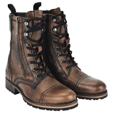 Женские ботинки из натуральной кожи бронзового цвета Pepe Jeans London