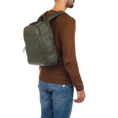 Мужской городской рюкзак из кожи Piquadro