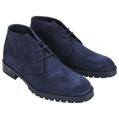 Мужские замшевые ботинки на шнуровке Dino Bigioni