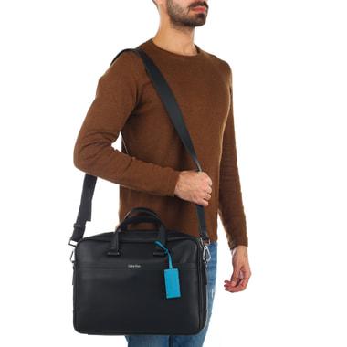 Мужская деловая сумка с отделом для ноутбука Calvin Klein Jeans