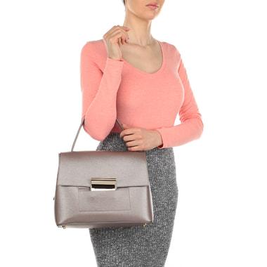 Женская сумка с ручкой изменяемой высоты Carlo Salvatelli