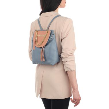 Женский рюкзак из натуральной кожи на молнии Bruno Rossi