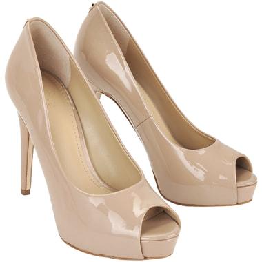 Женские лакированные туфли с открытым мысом Guess