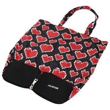 Женская сумка в прочном чехле Love Moschino