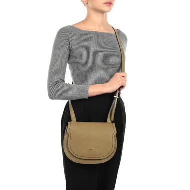 Женская кожаная сумка через плечо Furla