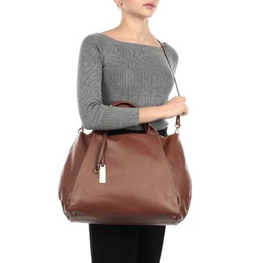 Вместительная женская сумка из натуральной кожи Ripani