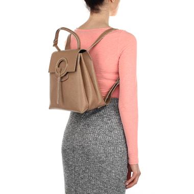 Женский кожаный рюкзак Carlo Salvatelli