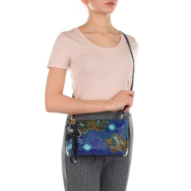 Женская сумочка из натуральной кожи с плечевым ремешком Marino Orlandi