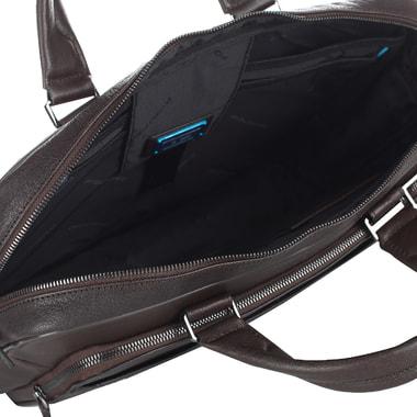 Мужская деловая сумка из кожи Piquadro