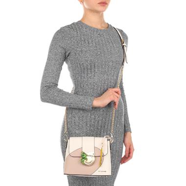 Женская сафьяновая сумочка через плечо Cromia