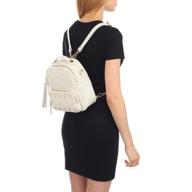 Женский кожаный рюкзак со съемными лямками Aurelli