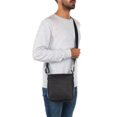 Мужская кожаная сумка через плечо Mayrhoff