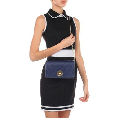Кожаная женская сумочка с плечевой цепочкой Sara Burglar