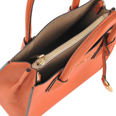 Маленькая кожаная сумка со съемным ремешком Michael Kors
