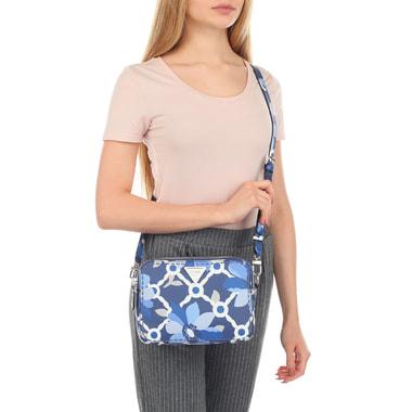 Компактная женская сумочка с принтом Guess
