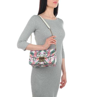 Женская сумочка с ярким принтом Furla