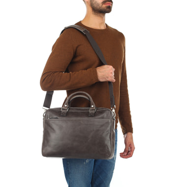 Мужская деловая сумка на молнии Picard