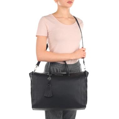 Женская деловая сумка из натуральной кожи Piquadro