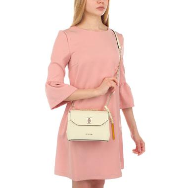 Женская сафьяновая сумочка с ремешком Cromia