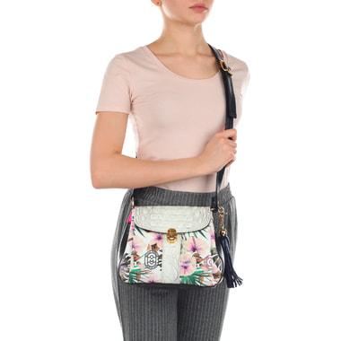 Компактная женская сумочка из натуральной кожи Marino Orlandi