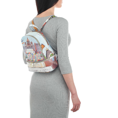 Женский рюкзак с принтом Acquanegra