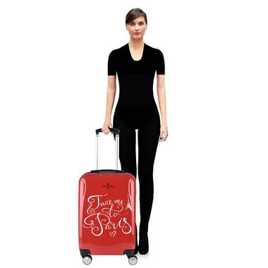 Женский чемодан на колесах Chatte