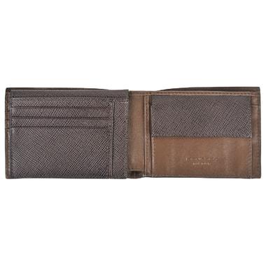 Мужское портмоне из комбинированной коричневой кожи Piquadro