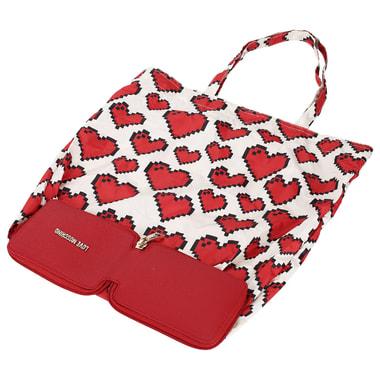 Женская сумка в чехле на молнии Love Moschino