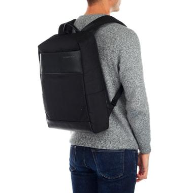 Рюкзак из черного нейлона Samsonite Red