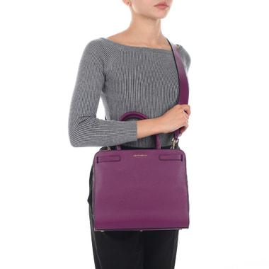 Женская кожаная сумка со съемным ремешком Coccinelle