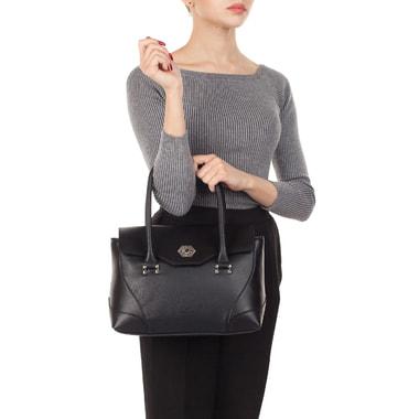 Женская кожаная сумка с откидным клапаном Chatte