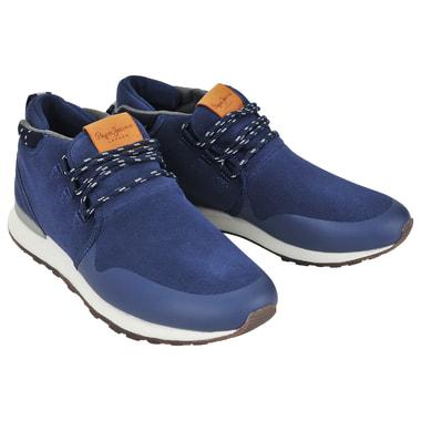 Мужские замшевые кроссовки Pepe Jeans London