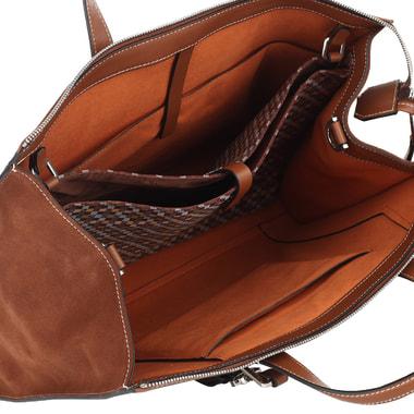 Женская комбинированная деловая сумка Piquadro