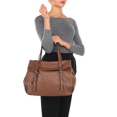 Женская кожаная сумка с длинными ручками Ripani
