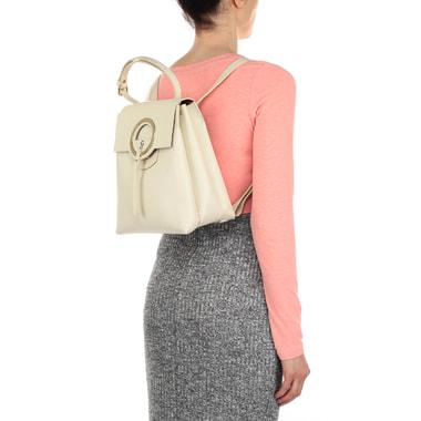 Женский рюкзак из натуральной кожи Carlo Salvatelli