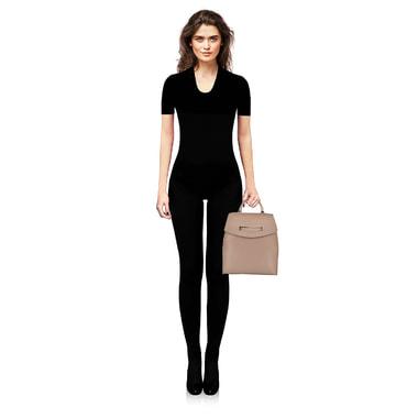 Женский кожаный рюкзак с тонкими лямками Patrizia Pepe