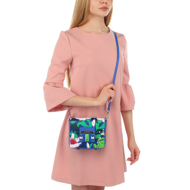 Женская сумочка с принтом Cromia