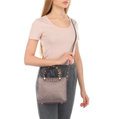 Маленькая женская сумочка с декоративными ручками Roberta Gandolfi