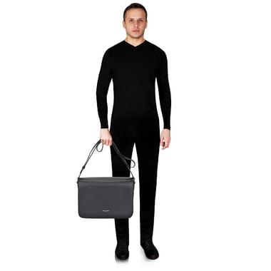 Мужская кожаная сумка Michael Kors Men