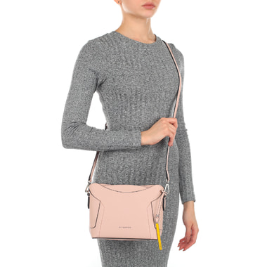 Женская сумочка из розового сафьяна Cromia