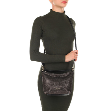 Женская комбинированная сумочка с плечевым ремешком Chatte