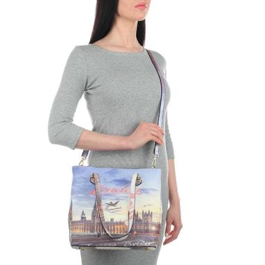 Женская сумка-тоут с принтом Acquanegra