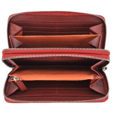 Женское кожаное портмоне с двумя отделами Braun Buffel