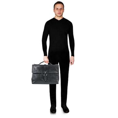 Мужской кожаный портфель Picard